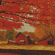 Upstate Autumn Art Print