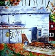 Upstate Barn Art Print