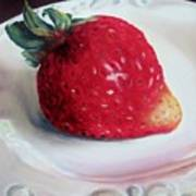 Uptown Strawberry Girl Art Print