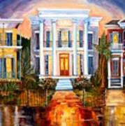 Uptown Tonight Print by Diane Millsap