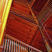 Upward Vertigo Art Print