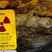 Uranium Mine In Capitol Reef Np Art Print