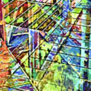 Urban Abstract 115 Art Print