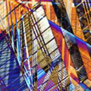 Urban Abstract 157 Art Print