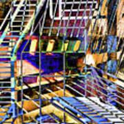 Urban Abstract 172 Art Print