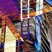 Urban Abstract 224 Art Print