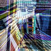 Urban Abstract 304 Art Print