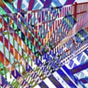 Urban Abstract 352 Art Print