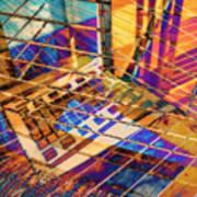 Urban Abstract 423 Art Print