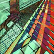 Urban Abstract 472 Art Print