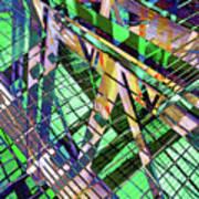Urban Abstract 500 Art Print