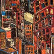 Urban Congestion Art Print
