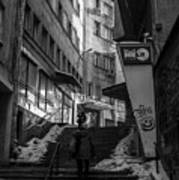 Urban Darkness Art Print