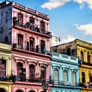 Urban Havana Art Print