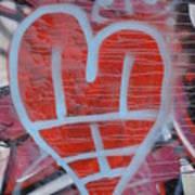 Urban Heart Art Print