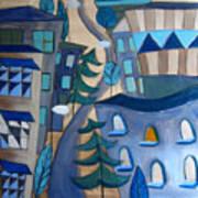 Urban Landscape 5 Art Print