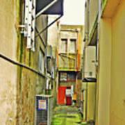 Urban Landscape-blind Alley Art Print