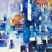 Urban Landscape No.1 Art Print