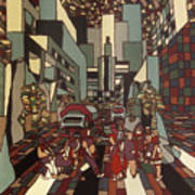 Urban Music Vl Art Print