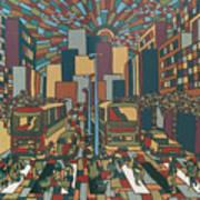 Urban Music Xll Art Print
