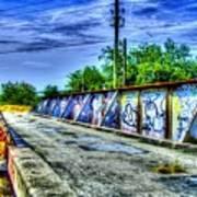 Urban Overpass Art Print