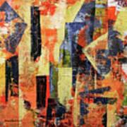Urban Patterns 7 Art Print