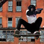 Urban Police Art Print by Monday Beam