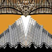 Urban Pyramid Art Print
