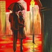 Urban Romance Art Print