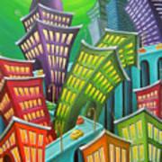 Urban Vertigo Art Print