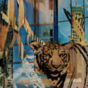 Urban Wildlife Art Print