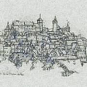 uremberg Sketching Art Print