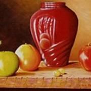 Urn An Apple Art Print