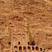 Urn Tomb, Petra Art Print