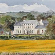Urpeth Hall Co Durham Art Print