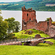 Urquhart  Castle Scotland Art Print