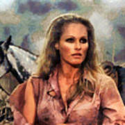 Ursula Andress Art Print