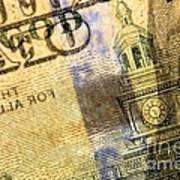 Us 100 Dollar Bill Security Features, 6 Art Print