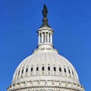 Us Capitol Building Dome Art Print