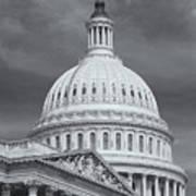 Us Capitol Building Iv Art Print