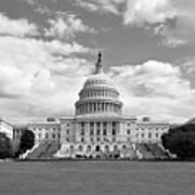 Us Capitol Building Washington Dc Art Print