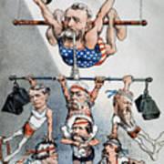 U.s. Grant Cartoon, 1880 Art Print