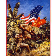 US Marines - WW2  Art Print