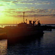 Us Naval Station Mayport Art Print