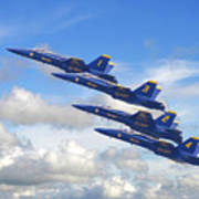 Us Navy - Blue Angels Art Print
