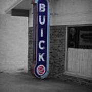 Us Route 66 Smaterjax Dwight Il Buick Signage Sc Art Print