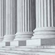 Us Supreme Court Building Iv Art Print