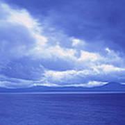 Usa, California, Lake Tahoe, Storm Art Print