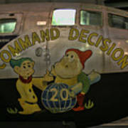 Usaf Museum B-29 Korea Art Print