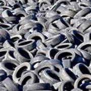 Used Tires Art Print